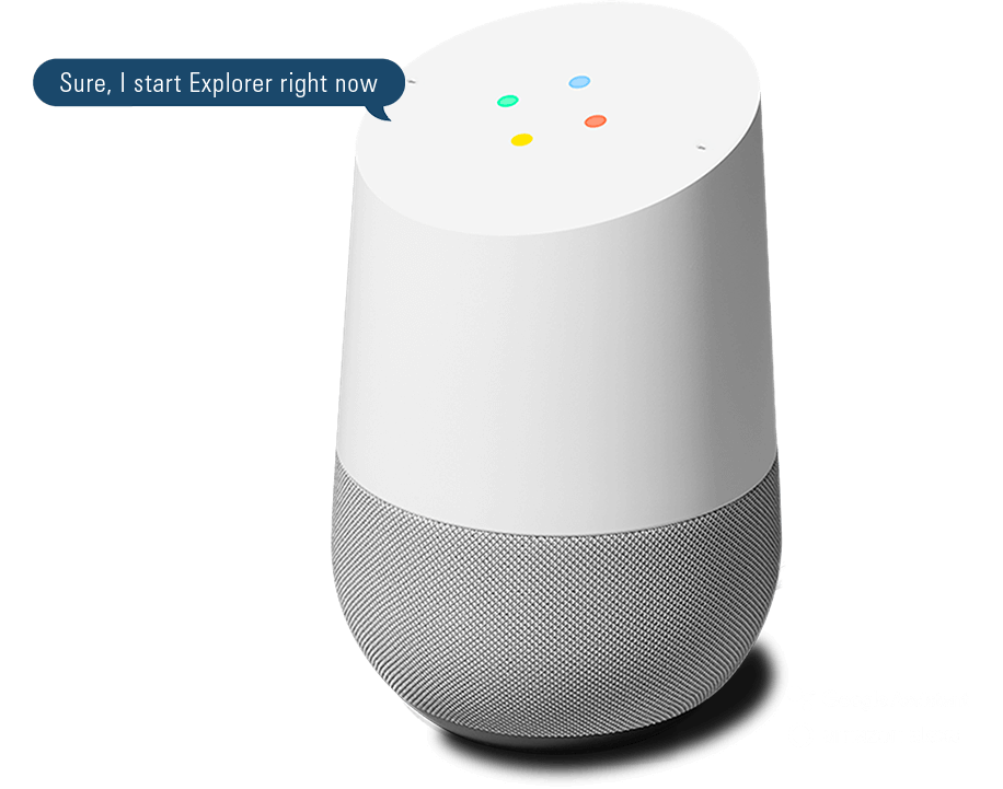 Google Assistant visual