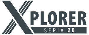 X-PLORER Serie 20 logo one detail sheet